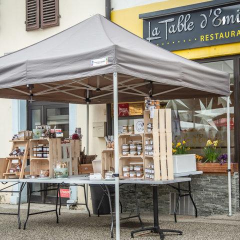 La Table d'Emilie | Le marché de Viuz-en-Sallaz